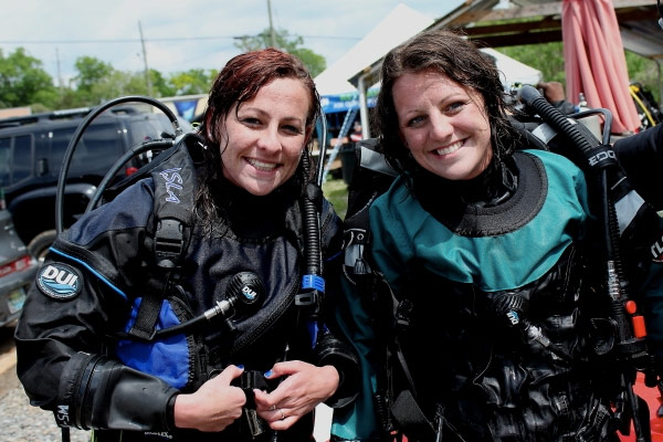 Dive Dry at DUI's Demo Days at Lake Wazee!
